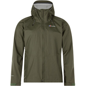 Berghaus Deluge Vented Shell Jacket Men Forest Night